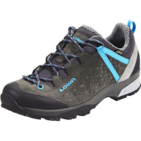 Lowa Sassa GTX Low Shoes Damen anthracite/blue